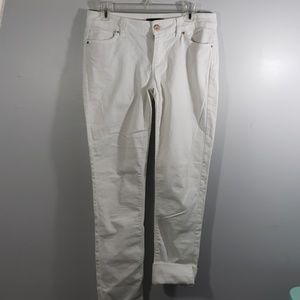White House Black Market white jeans